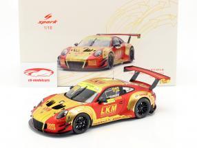 Porsche 911 GT3 R #912 4 ° FIA GT World Cup Macau 2018 Earl Bamber 1:18 Spark
