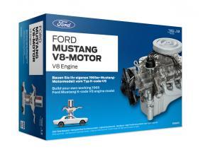 Ford Mustang V8-motor Opførselsår 1965 kit 1:3 Franzis
