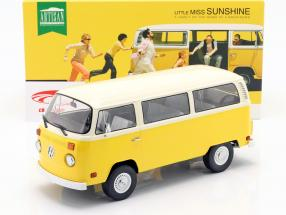 Volkswagen VW T2 Bus 1978 Movie Little Miss Sunshine (2006) yellow 1:18 Greenlight