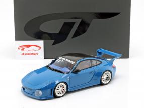 Porsche 911 (997) Old & New Body Kit 2016 blå 1:18 GT-Spirit