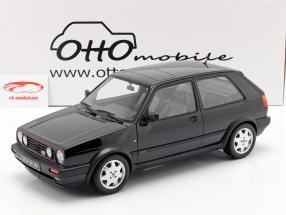 Volkswagen VW Golf GTI Mk2 16V Bouwjaar 1989 zwart 1:12 OttOmobile