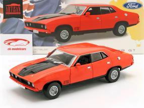 Ford Falcon XB GT351 Baujahr 1974 rot / schwarz 1:18 Greenlight