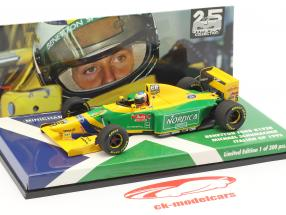 Michael Schumacher Benetton B193B #5 italiano GP formula 1 1993 1:43 Minichamps