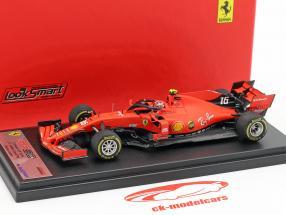 Charles Leclerc Ferrari SF90 #16 quinto chino GP fórmula 1 2019 1:43 LookSmart