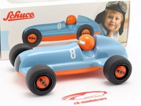 Studio Racer Blue-Pierre #8 azul / laranja Schuco