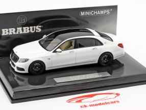 Maybach Brabus 900 baserede på Mercedes-Benz Maybach S600 2016 hvid 1:43 Minichamps