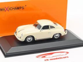 Porsche 356 A coupe year 1959 cream white 1:43 Minichamps
