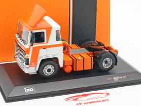 Scania LBT 141 camion année de construction 1976 orange / blanc 1:43 Ixo
