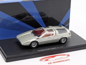 Porsche 914/6 Tapiro year 1970 silver 1:43 AutoCult