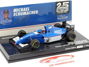 Michael Schumacher Ligier JS39B prueba Estoril fórmula 1 1994 1:43 Minichamps