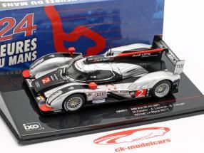 Audi R18 TDI #2 winnaar 24h LeMans 2011 Fässler, Lotterer, Treluyer 1:43 Ixo