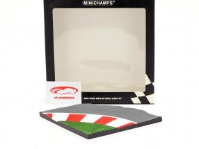 Racetrack Moto GP bicicletas 90 grado de la curva una y doce Minichamps