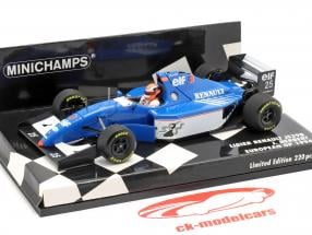 Johnny Herbert Ligier Renault JS39B #25 europeo GP 1994 1:43 Minichamps