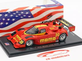 March 86G #30 Lime Rock 150 Laps 1988 Moretti, Roe 1:43 Spark