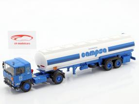 Pegaso 1231 T Campsa Bouwjaar 1982 blauw / wit 1:43 Altaya