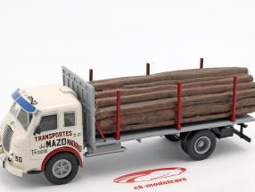 Pegaso Ii Z-202 Diesel Forestal caminhão ano de construção 1956 branco / cinza 1:43 Altaya