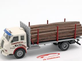 Pegaso Ii Z-202 Diesel Forestal Truck year 1956 white / grey 1:43 Altaya