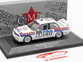 BMW M3 (E30) #7 Ganador doble Brno DTM 1992 Johnny Cecotto 1:43 CMR