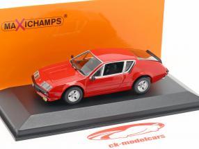 Renault Alpine A310 anno di costruzione 1976 rosso 1:43 Minichamps