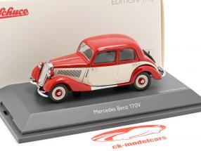 Mercedes-Benz 170V rood / wit 1:43 Schuco