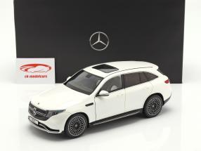 Mercedes-Benz EQC 4Matic (N293) Opførselsår 2019 diamant hvid 1:18 NZG