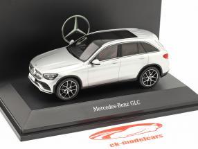 Mercedes-Benz GLC (X253) Mopf iridium sølv 1:43 Spark