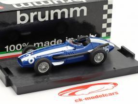 M. Gregory #26 Maserati 250F Fórmula 1 GP Italia 1957 1:43 Brumm