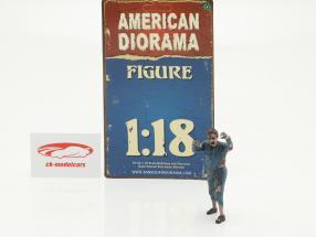 Zombie monteur II figuur 1:18 American Diorama