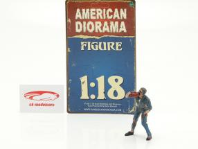 Zombie monteur III figuur 1:18 American Diorama