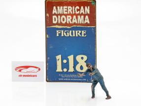 Zombie mécanicien IV figure 1:18 American Diorama