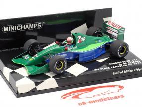 Andrea de Cesaris Jordan 191 #33 4e Canadees GP F1 1991 1:43 Minichamps