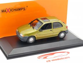 Ford Fiesta Baujahr 1995 gold metallic 1:43 Minichamps