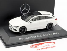 Mercedes-Benz CLA Shooting Brake (X118) Opførselsår 2019 polar hvid 1:43 Spark