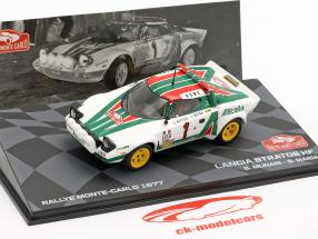 Lancia Stratos HF #1 ganador Rallye Monte Carlo 1977 Munari, Maiga 1:43 Altaya
