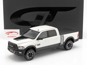 Dodge Ram 2500 Power Wagon year 2017 white 1:18 GT-SPIRIT