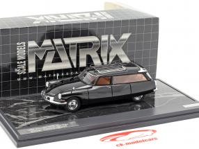 Citroen ID19 Cortege Slough Factory Hearse Opførselsår 1962 sort 1:43 Matrix