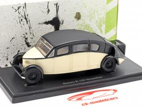 Burney R-100 Streamline year 1930 ivory / black 1:43 AutoCult