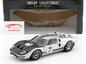Ford GT40 Mk II #7 24h LeMans 1966 Hill, Muir 1:18 ShelbyCollectibles