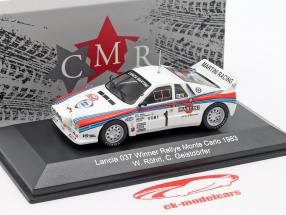 Lancia 037 #1 vencedor Rallye Monte Carlo 1983 Röhrl, Geistdörfer 1:43 CMR