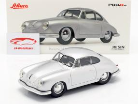 Porsche 356 Gmünd Coupe argento 1:18 Schuco