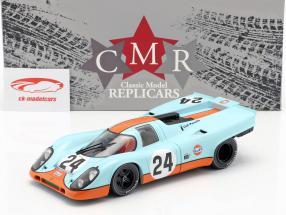 Porsche 917K Gulf #24 winnaar 24h Spa 1970 Siffert, Redman 1:18 CMR
