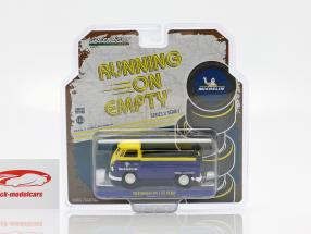 Volkswagen VW Type 2 (T1) Michelin Pick-Up azul / amarillo 1:43 Greenlight