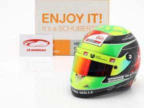 Mick Schumacher Prema Racing #9 formule 2 2019 casque 1:2 Schuberth