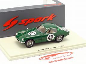 Lotus Elite #42 24h LeMans 1959 Whitmore, Clark 1:43 Spark