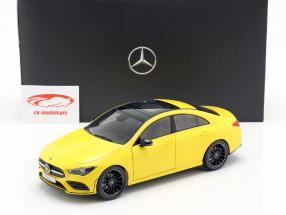 Mercedes-Benz CLA Coupe (C118) Bouwjaar 2019 zon geel 1:18 Z-Models