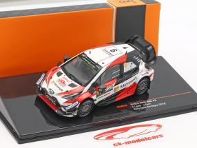 Toyota Yaris WRC #9 3 Rallye Italie Sardaigne Lappi, Fern 1:43 Ixo
