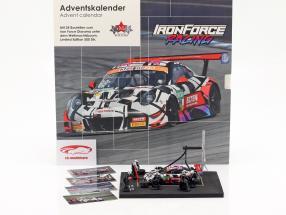 Iron Force Calendario dell' Avvento: Porsche 911 (991) GT3 R #69 Iron Force 1:43 CMR