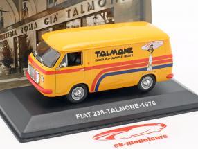 Fiat 238 van Talmone année de construction 1970 orange 1:43 Altaya