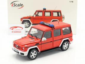 Mercedes-Benz G-Class (W463) 2015 pompiers 1:18 iScale
