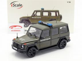 Mercedes-Benz Classe G (W463) 2015 della polizia militare 1:18 iScale